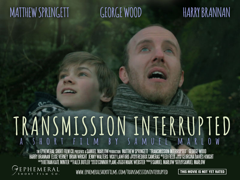 Transmission Interrupted Poster